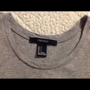 """Forever 21 Tops - Forever 21 """"Do Nut Worry Be Happy"""" Tee"""